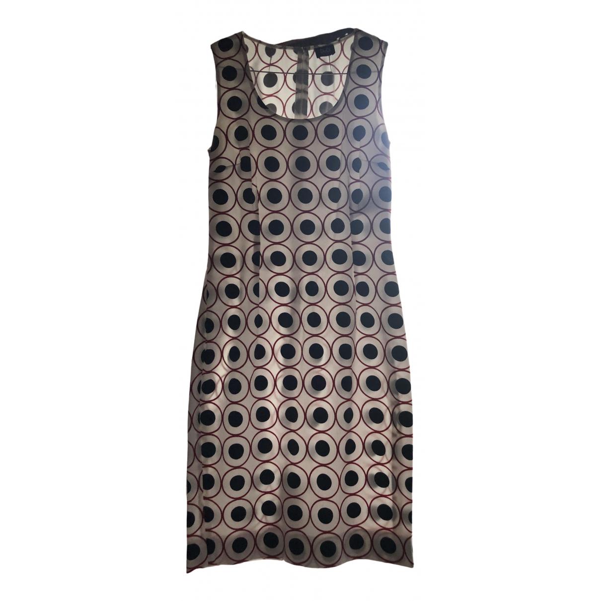 D&g \N Kleid in  Weiss Baumwolle
