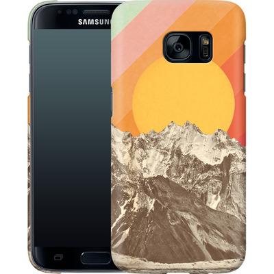 Samsung Galaxy S7 Smartphone Huelle - Mountainscape von Florent Bodart