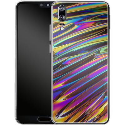 Huawei P20 Silikon Handyhuelle - Twist von Danny Ivan
