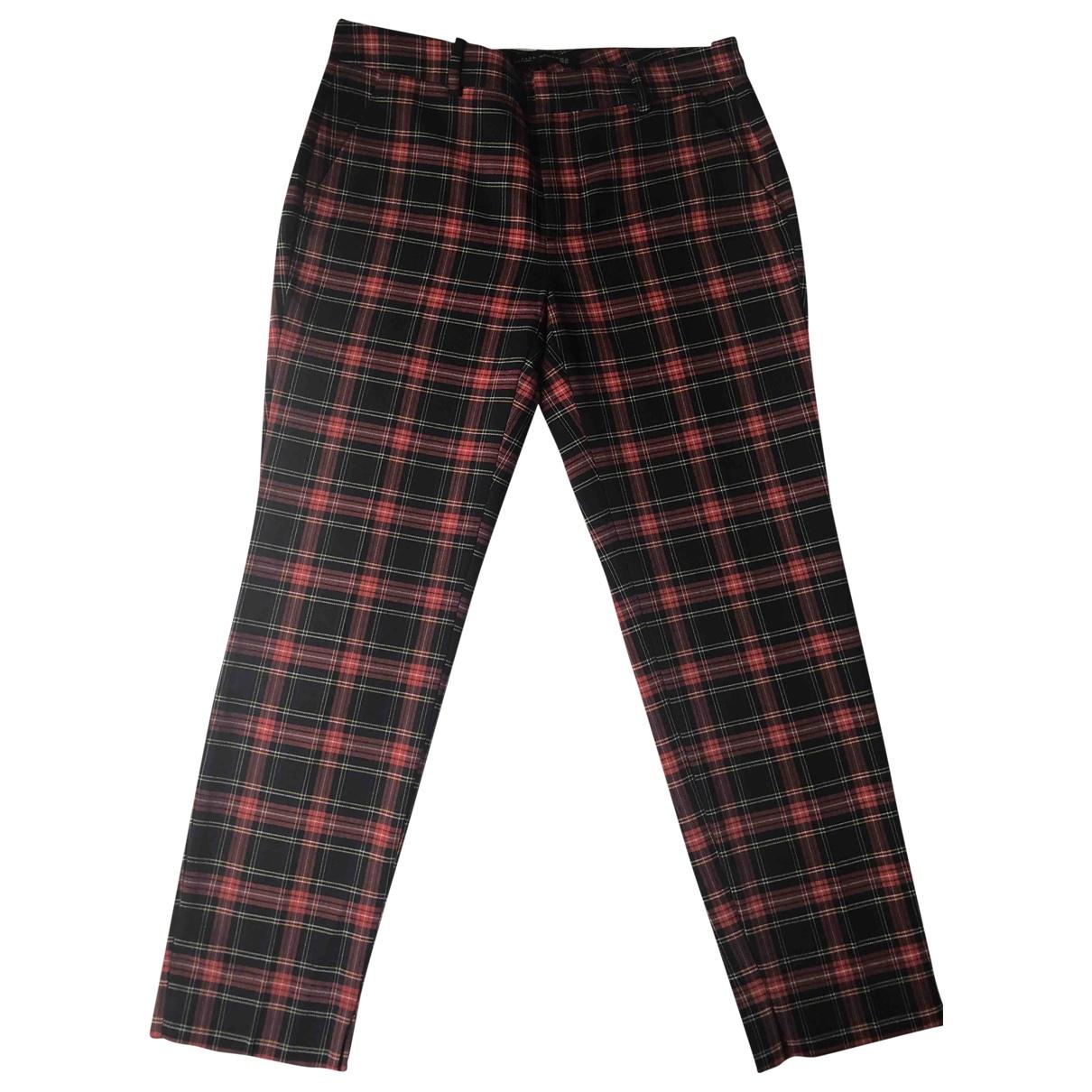 Zara \N Black Trousers for Women 36 FR