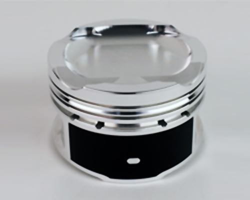 JE Pistons 357429 Honda L15B Turbo 73mm Bore 10.3:1 CR -9.6cc Dome Piston Set - Set of 4