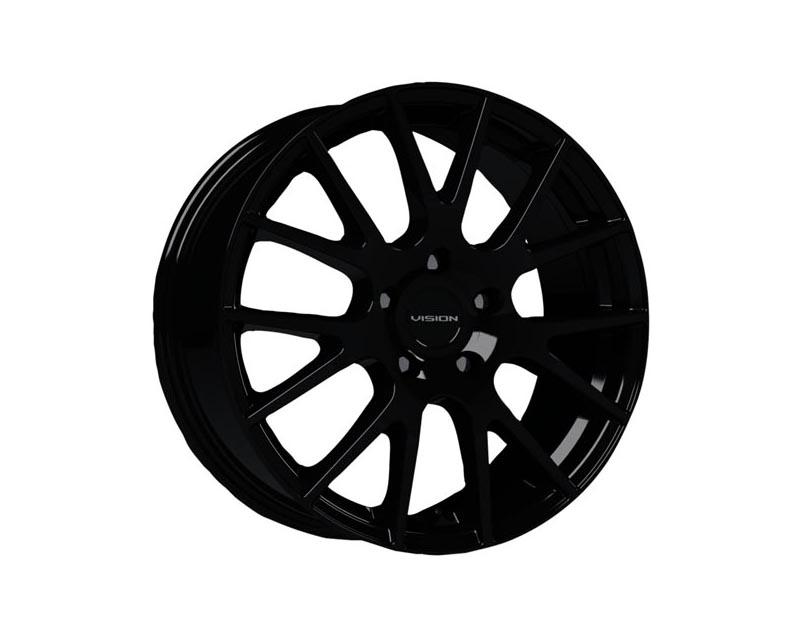 Vision Wheels 18-7765GB40 Hellion Wheel 17x7.5 5x114.3 40 BKGLXX Gloss Black