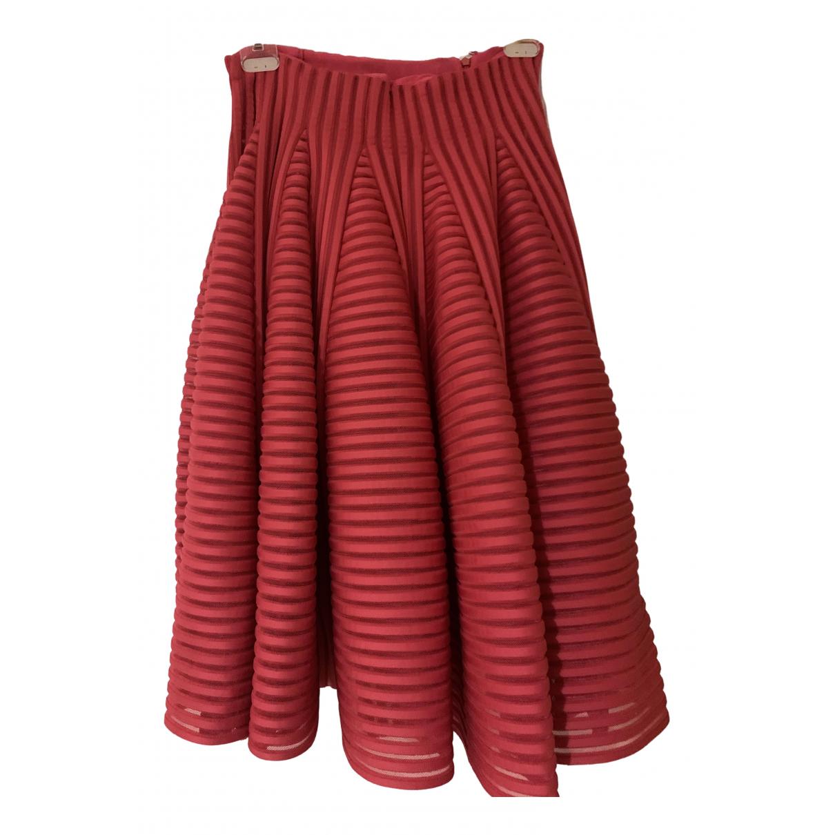 Maje \N Rocke in  Rot Polyester