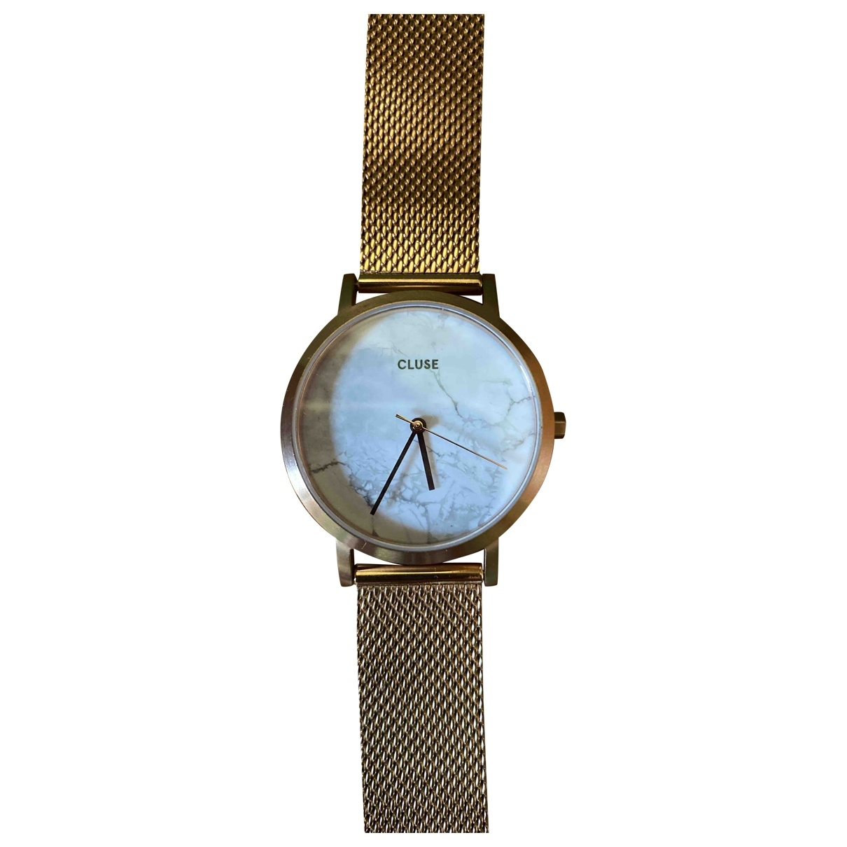 Cluse \N Uhr in  Gold Stahl