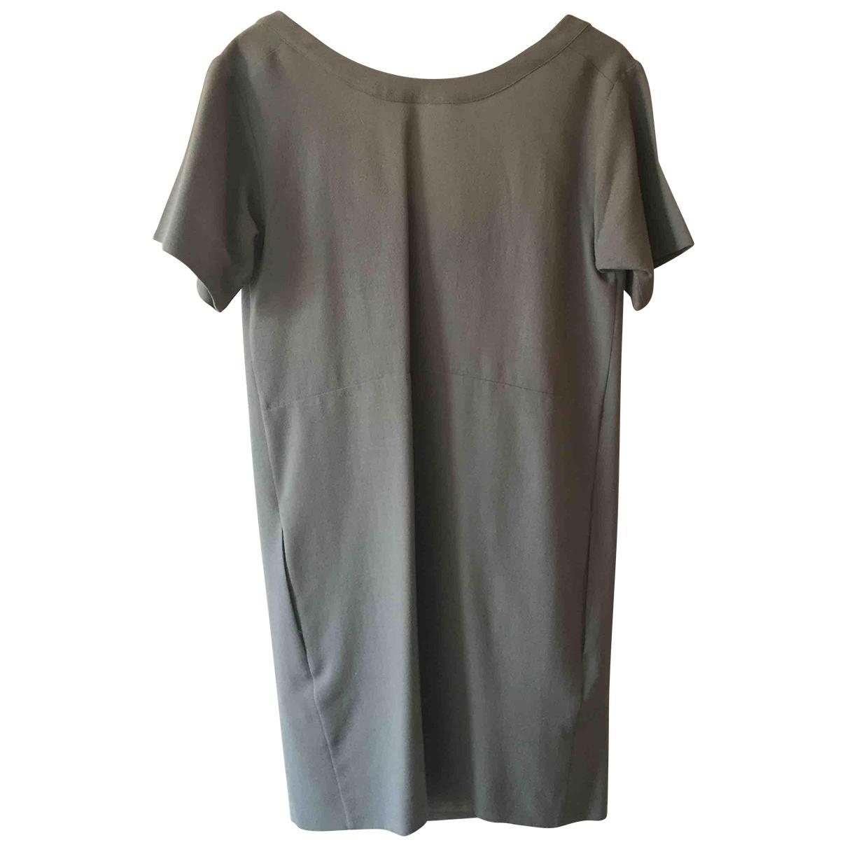 Chloé \N Green Wool dress for Women 38 FR