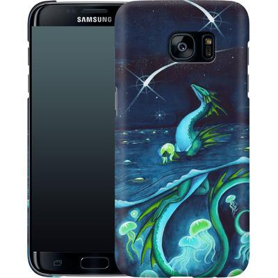 Samsung Galaxy S7 Edge Smartphone Huelle - Carla Morrow - Sea of Stars von TATE and CO