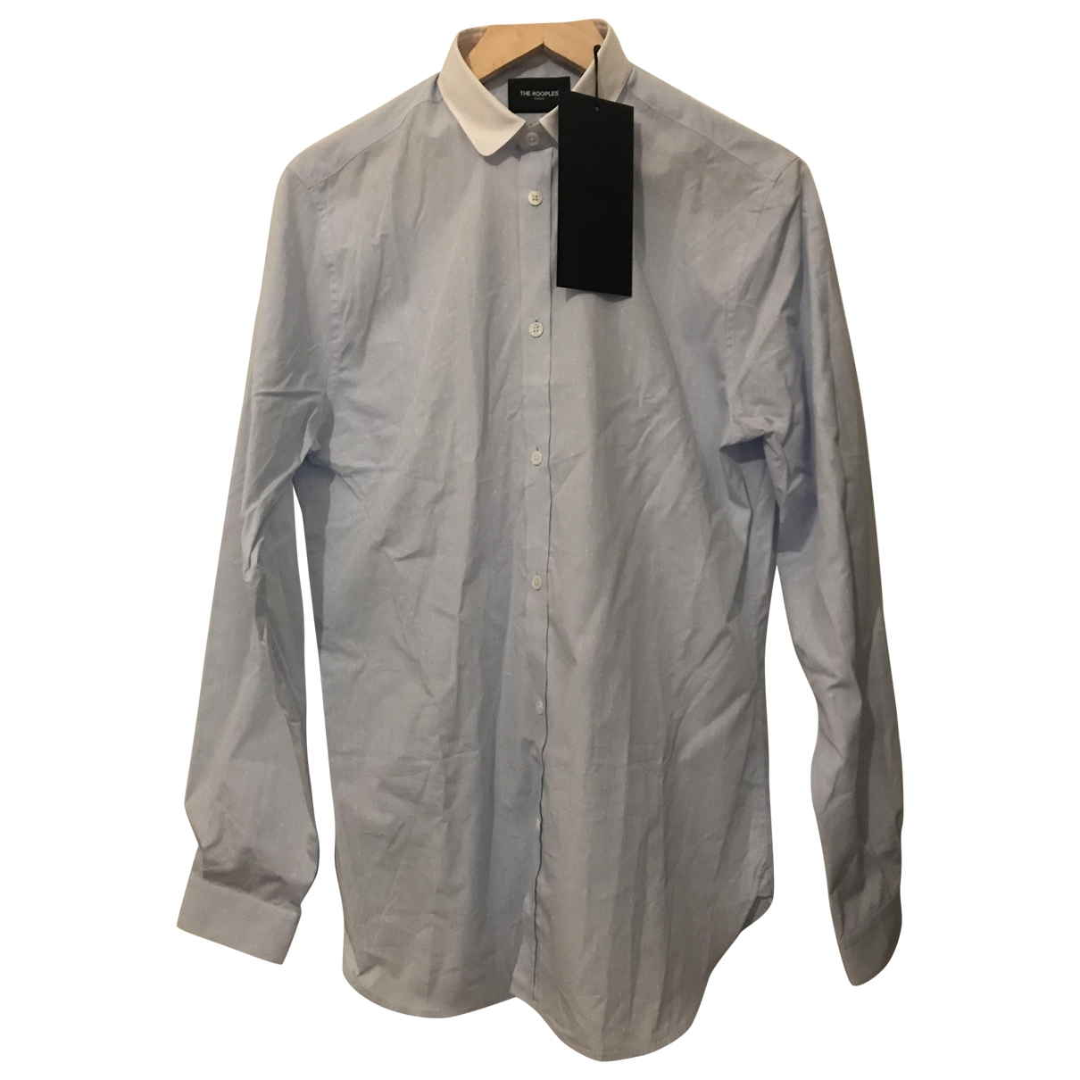 The Kooples \N Hemden in  Blau Baumwolle