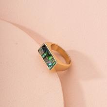 Ring mit geometrischem Design