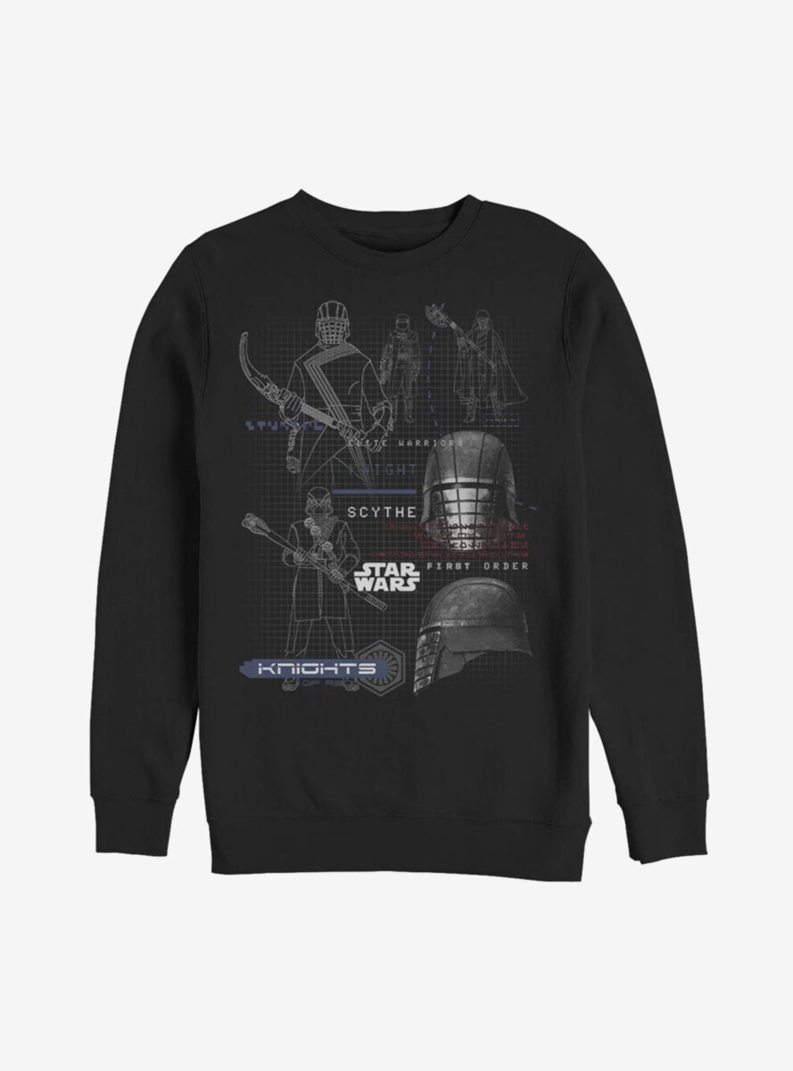 Star Wars Episode IX The Rise Of Skywalker Kylo Ren Maps Sweatshirt