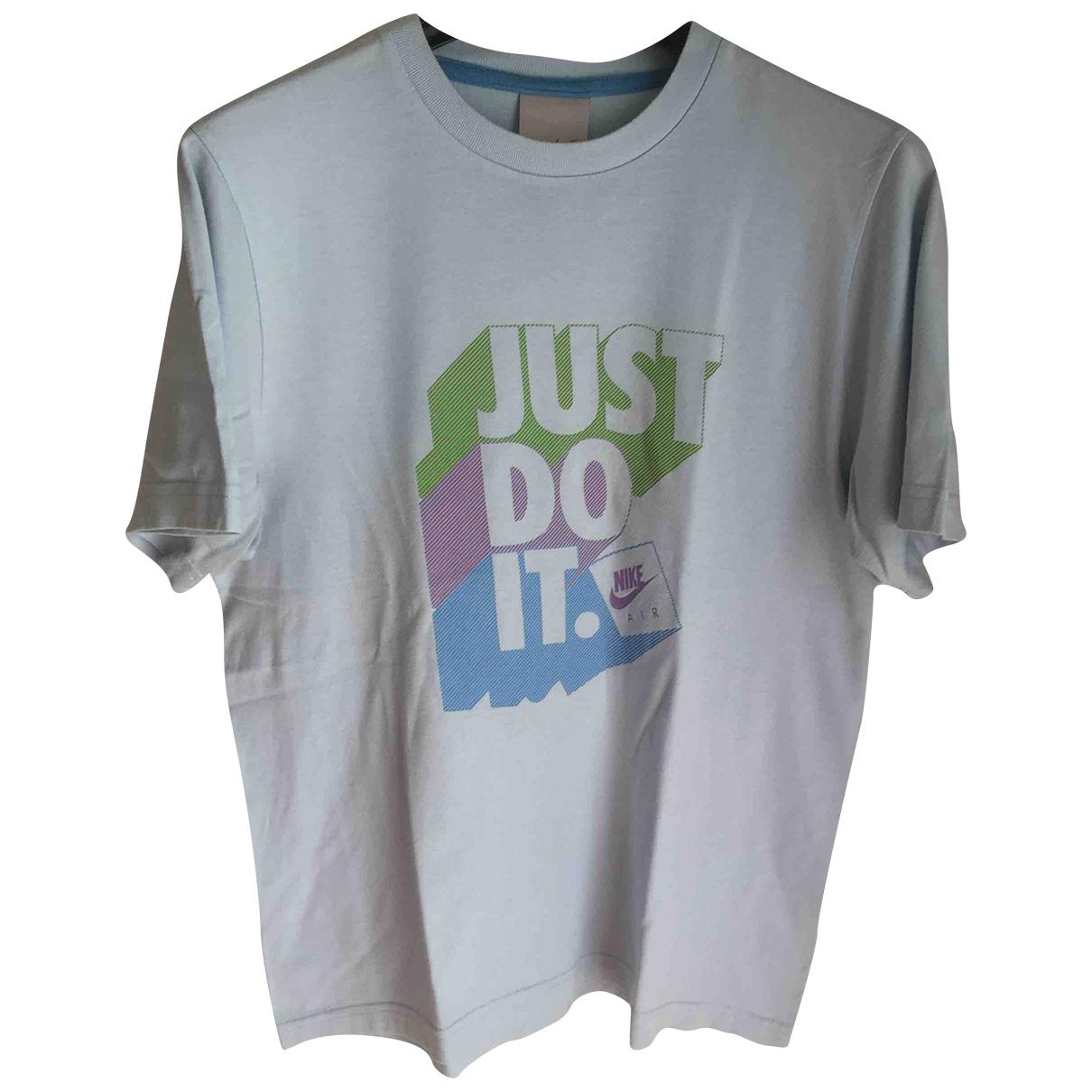 Nike \N T-Shirts in  Tuerkis Baumwolle