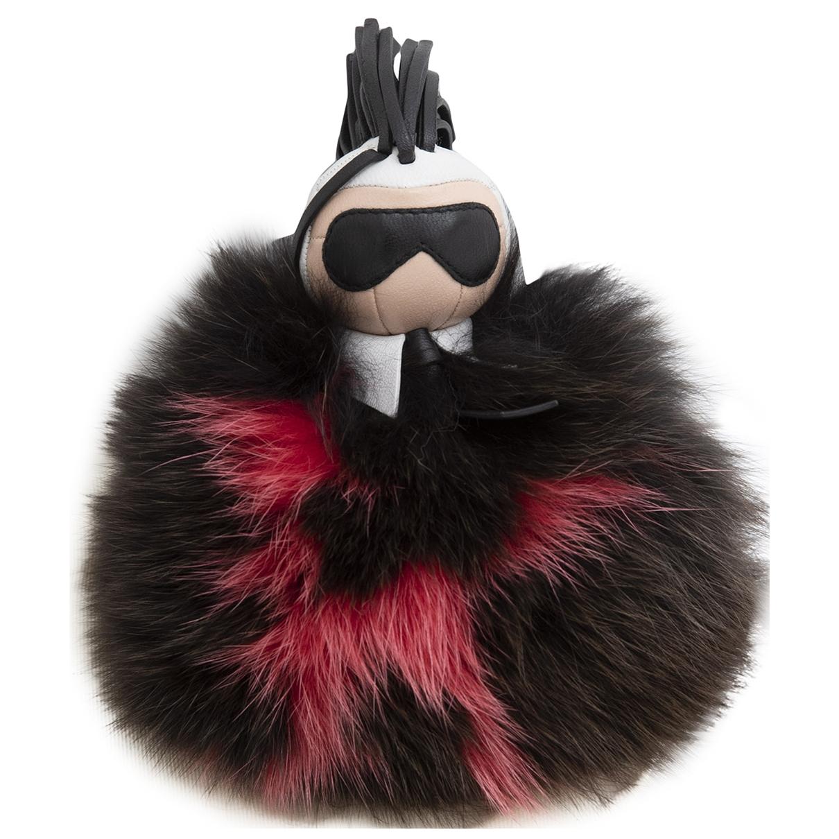 Fendi Pompon Karl Black Fox Bag charms for Women \N