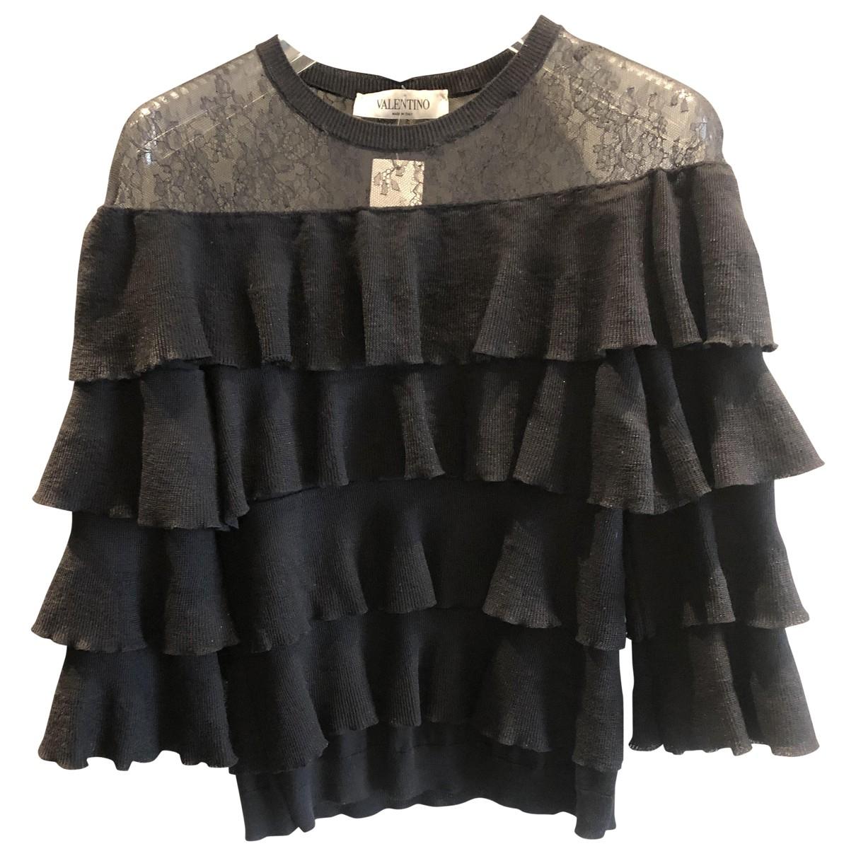 Valentino Garavani N Black Wool  top for Women S International