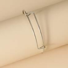 Simple Metal Bracelet