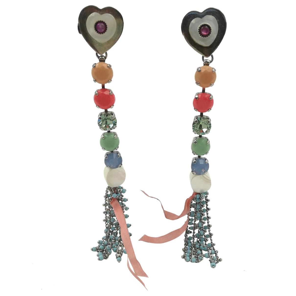 Reminiscence \N Multicolour Crystal Earrings for Women \N