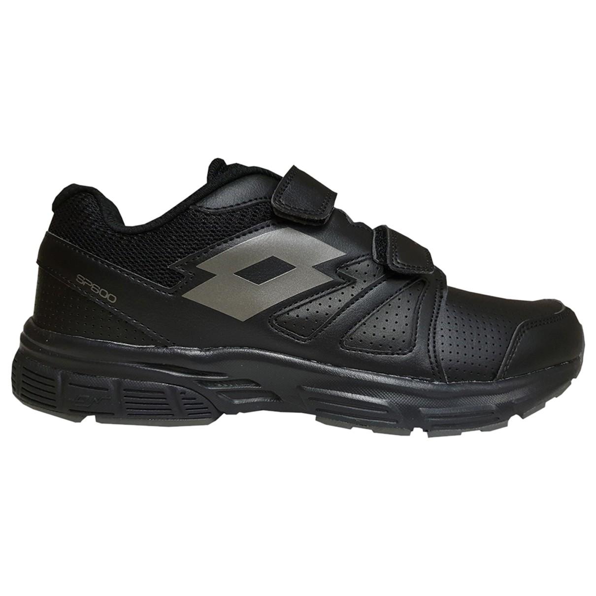 Lotto \N Sneakers in  Schwarz Leder
