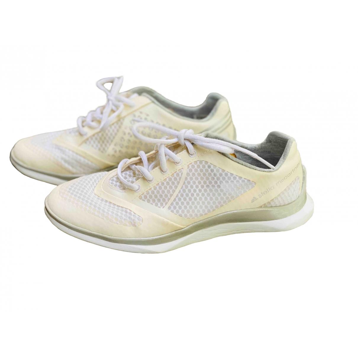 Stella Mccartney Pour Adidas \N Sneakers in  Weiss Kautschuk