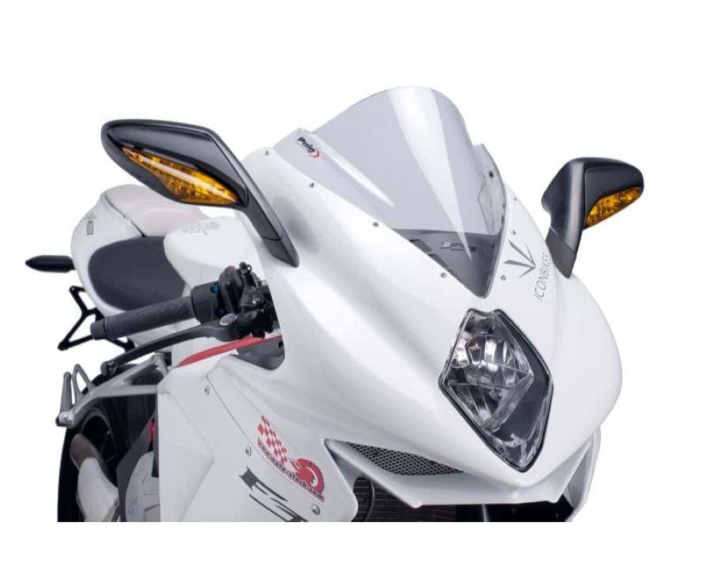 Puig 5651W Z-Racing Windscreen - Clear MV Agusta F3 675 2012