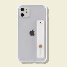 1 pieza funda de iphone con correa de mano