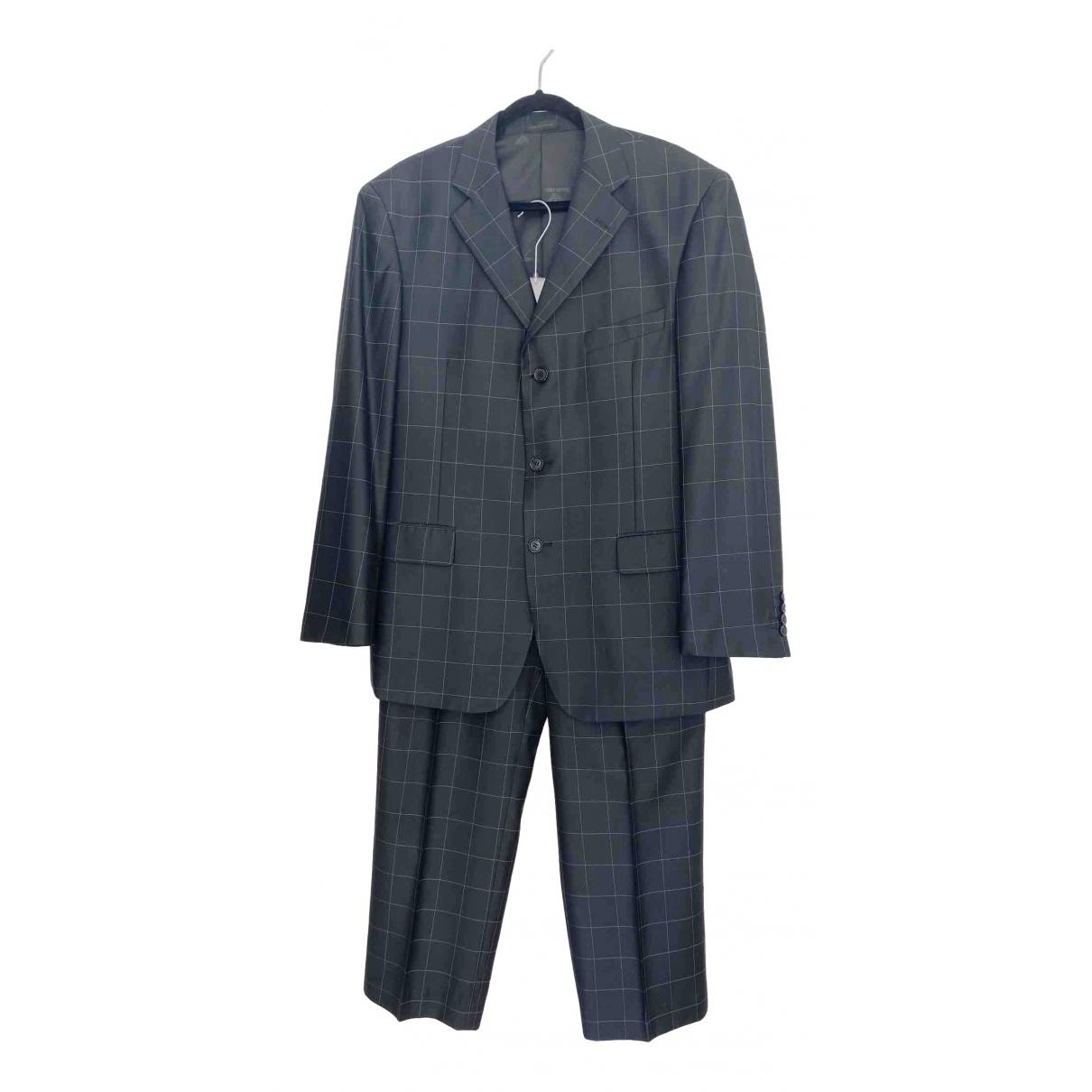 Giorgio Armani - Costumes   pour homme en laine - noir