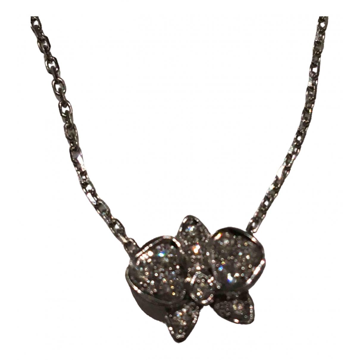 Cartier Caresse dOrchidees Kette in  Silber Weissgold