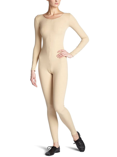 Milanoo Skin Color Morph Suit Adults Bodysuit Lycra Spandex Catsuit for Women