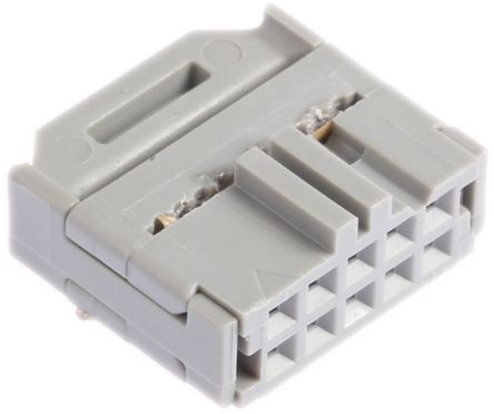 3M 10-Way IDC Connector Socket for Cable Mount, 2-Row
