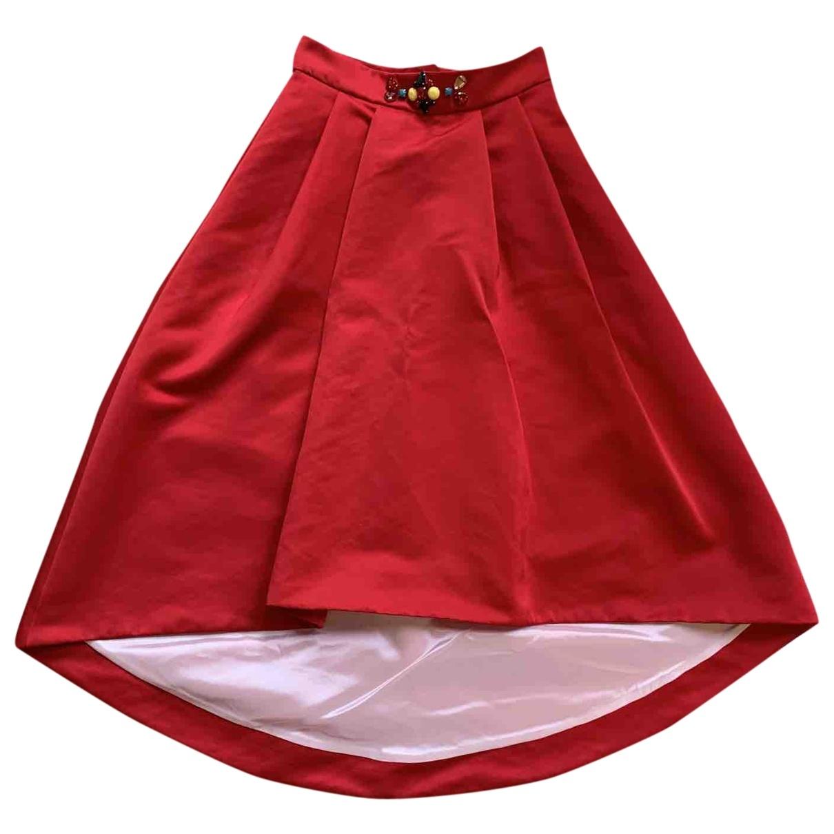Liu.jo - Jupe   pour femme - rouge