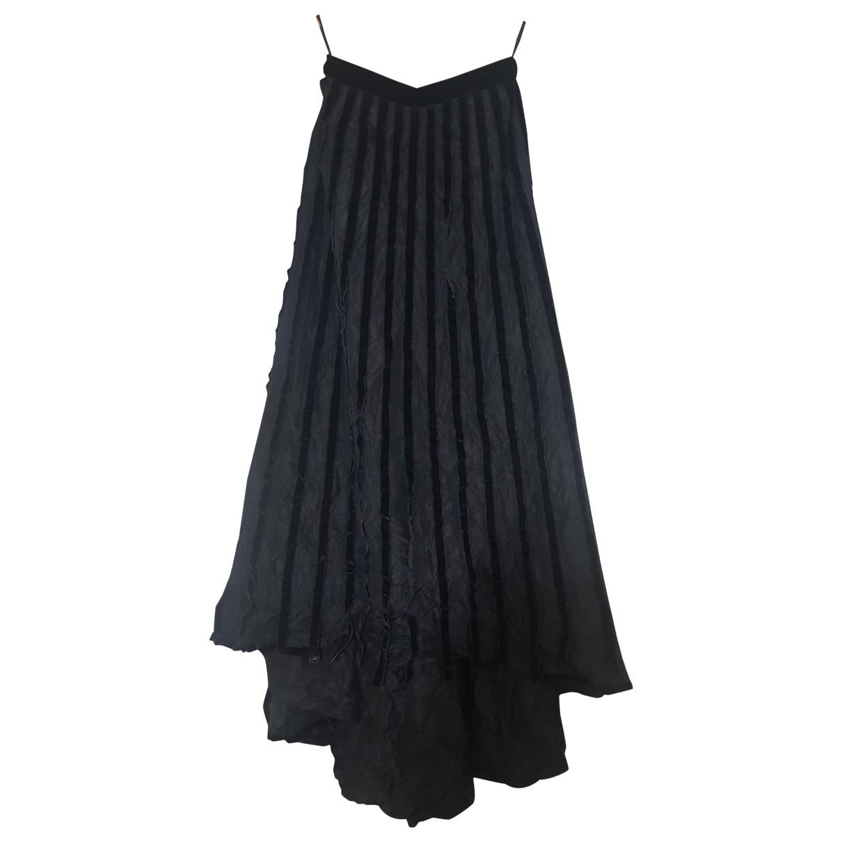 Falda maxi de Seda Chanel