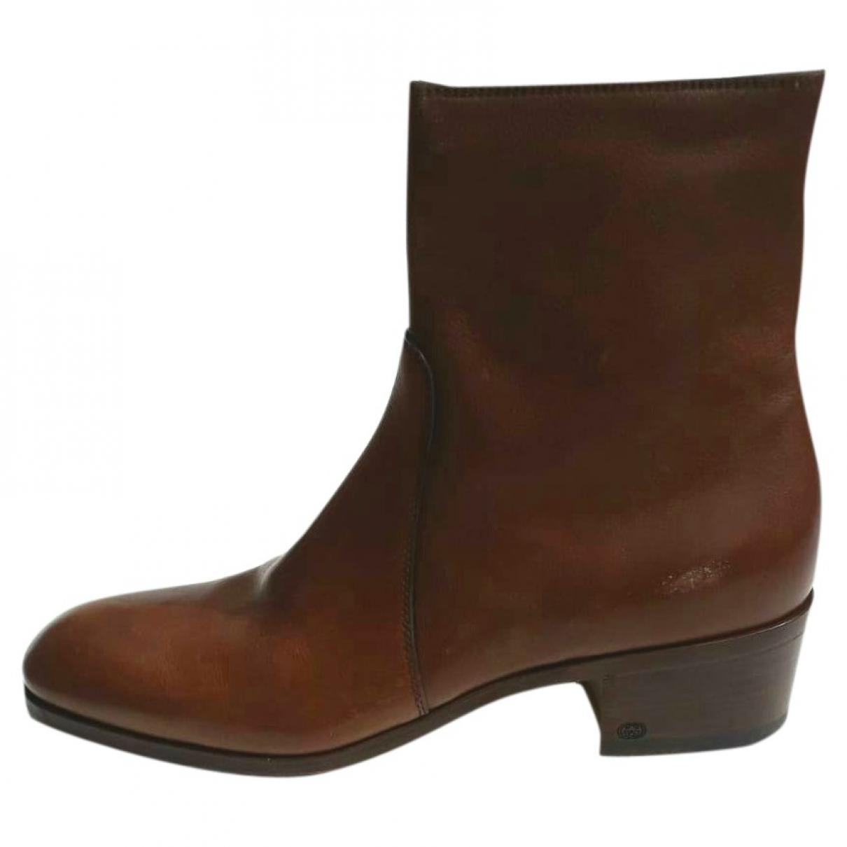 Gucci \N Brown Leather Boots for Men 43 EU