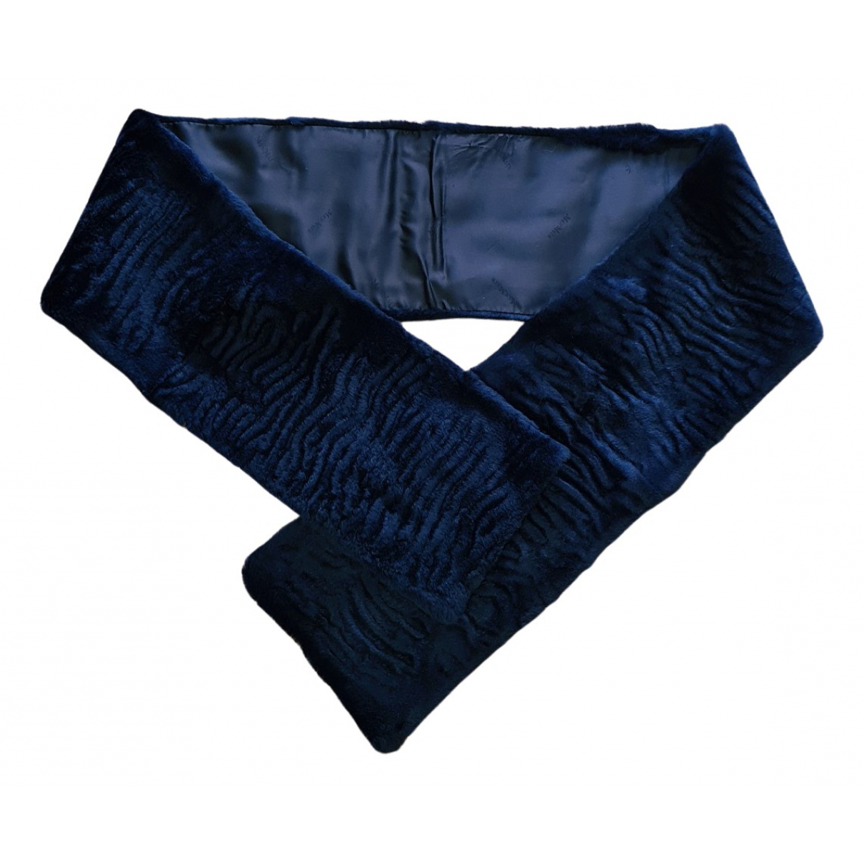 Max Mara N Blue Rabbit scarf for Women N