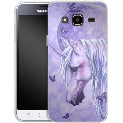 Samsung Galaxy J3 (2016) Silikon Handyhuelle - Moonlit Magic von Selina Fenech