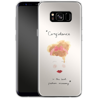 Samsung Galaxy S8 Silikon Handyhuelle - Confidence von caseable Designs
