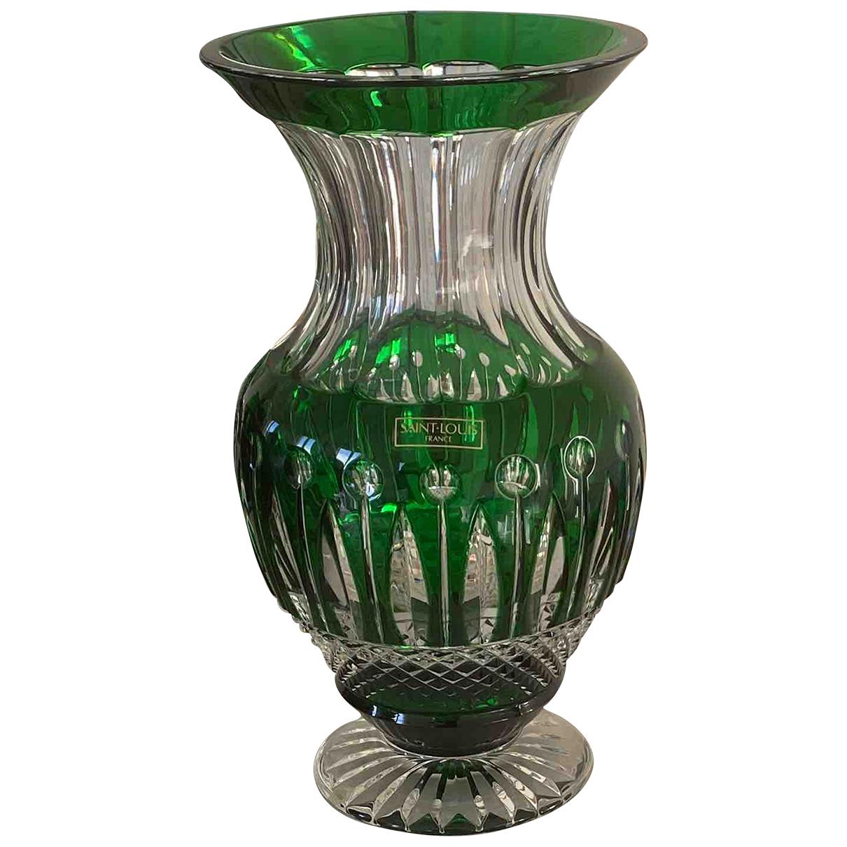 Saint-louis - Objets & Deco   pour lifestyle en cristal - vert