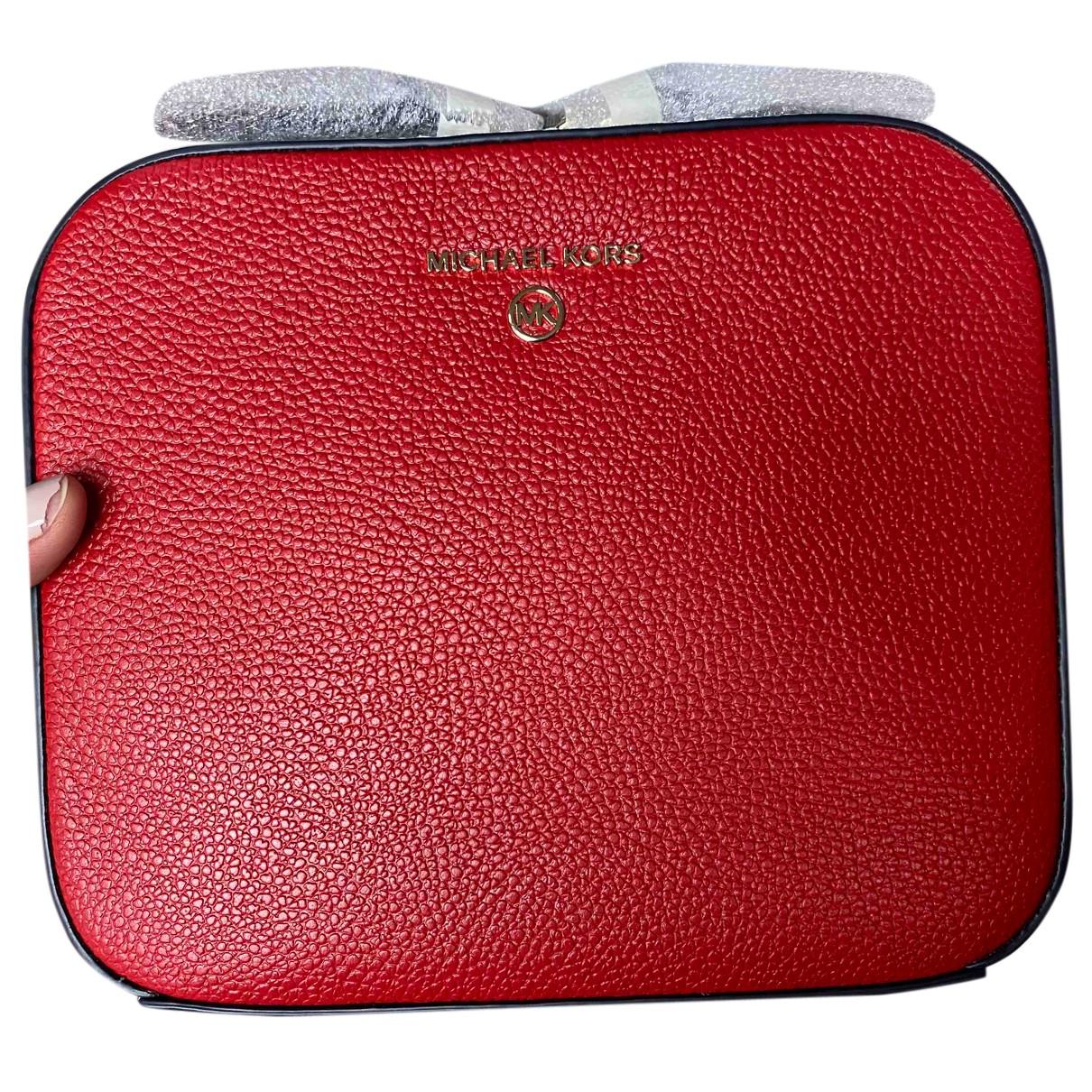 Michael Kors - Sac a main Jet Set pour femme en cuir - rouge