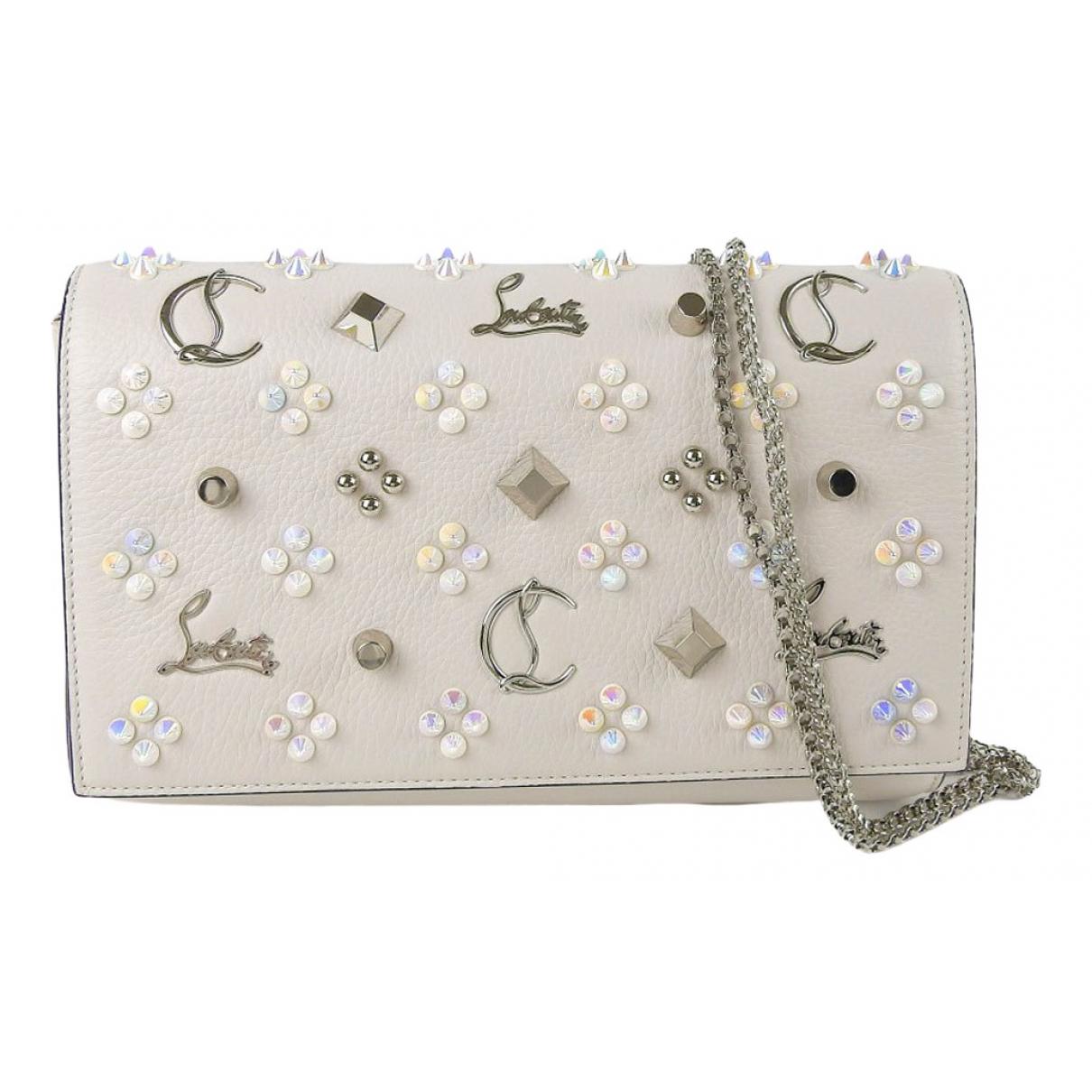 Christian Louboutin \N White Leather handbag for Women \N