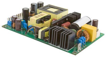 XP Power , 225W AC-DC Converter, 15V dc, Open Frame, Medical Approved