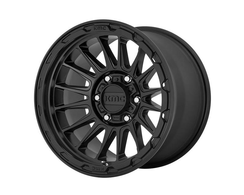 KMC Impact Wheel 17x9 6X5.5 18mm Satin Black