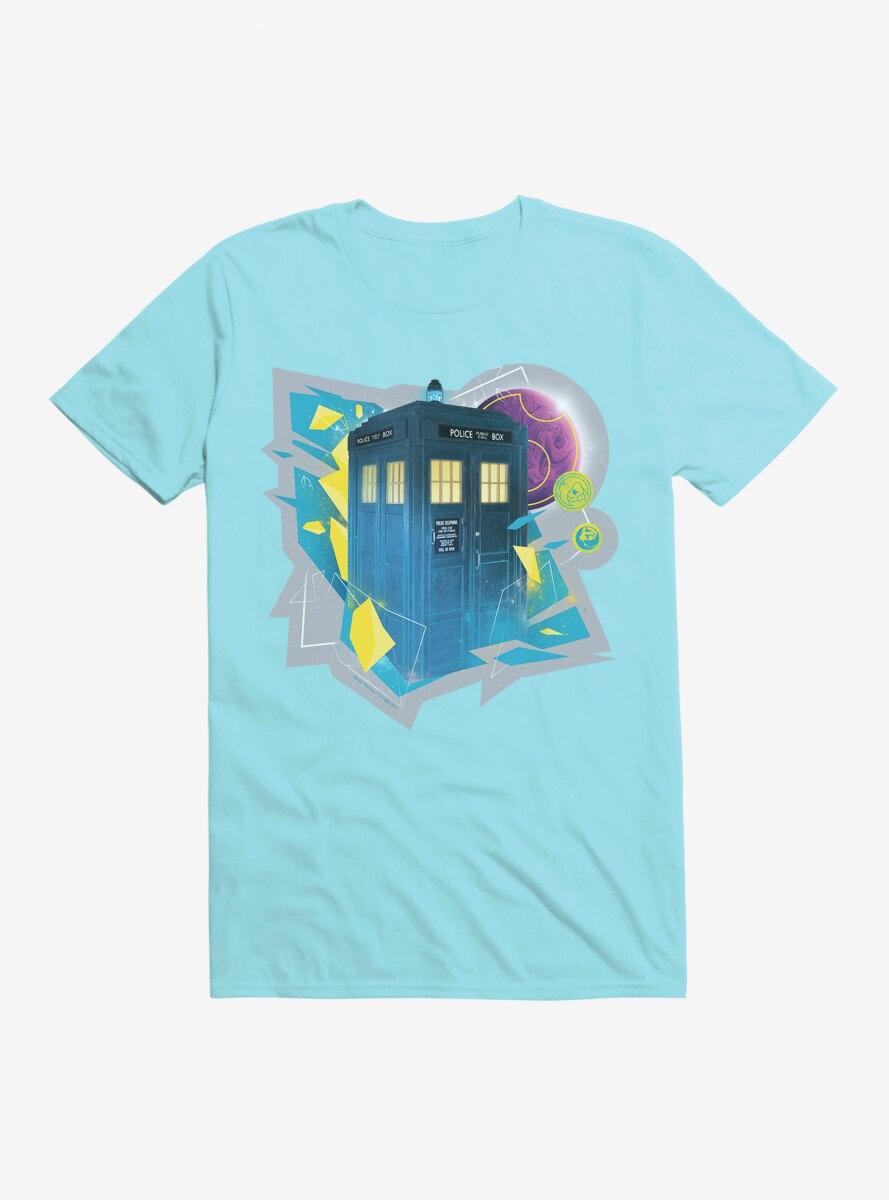 Doctor Who The Thirteenth Doctor Tardis Prism T-Shirt