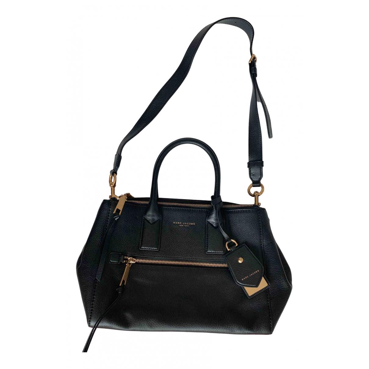 Marc Jacobs \N Handtasche in  Schwarz Leder