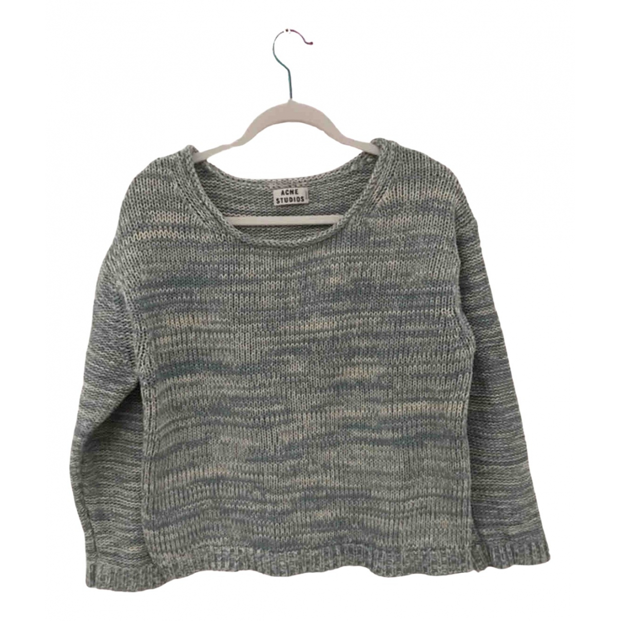 Acne Studios N Blue Cotton Knitwear for Women M International