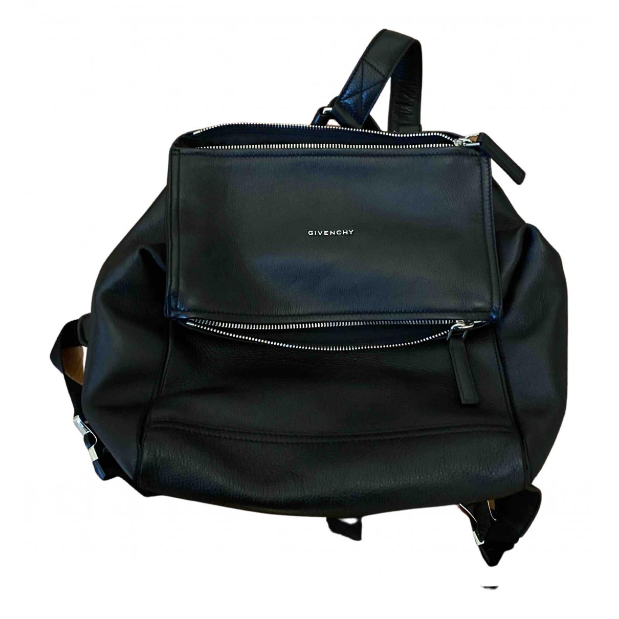 Givenchy - Sac a dos Pandora pour femme en cuir - marron