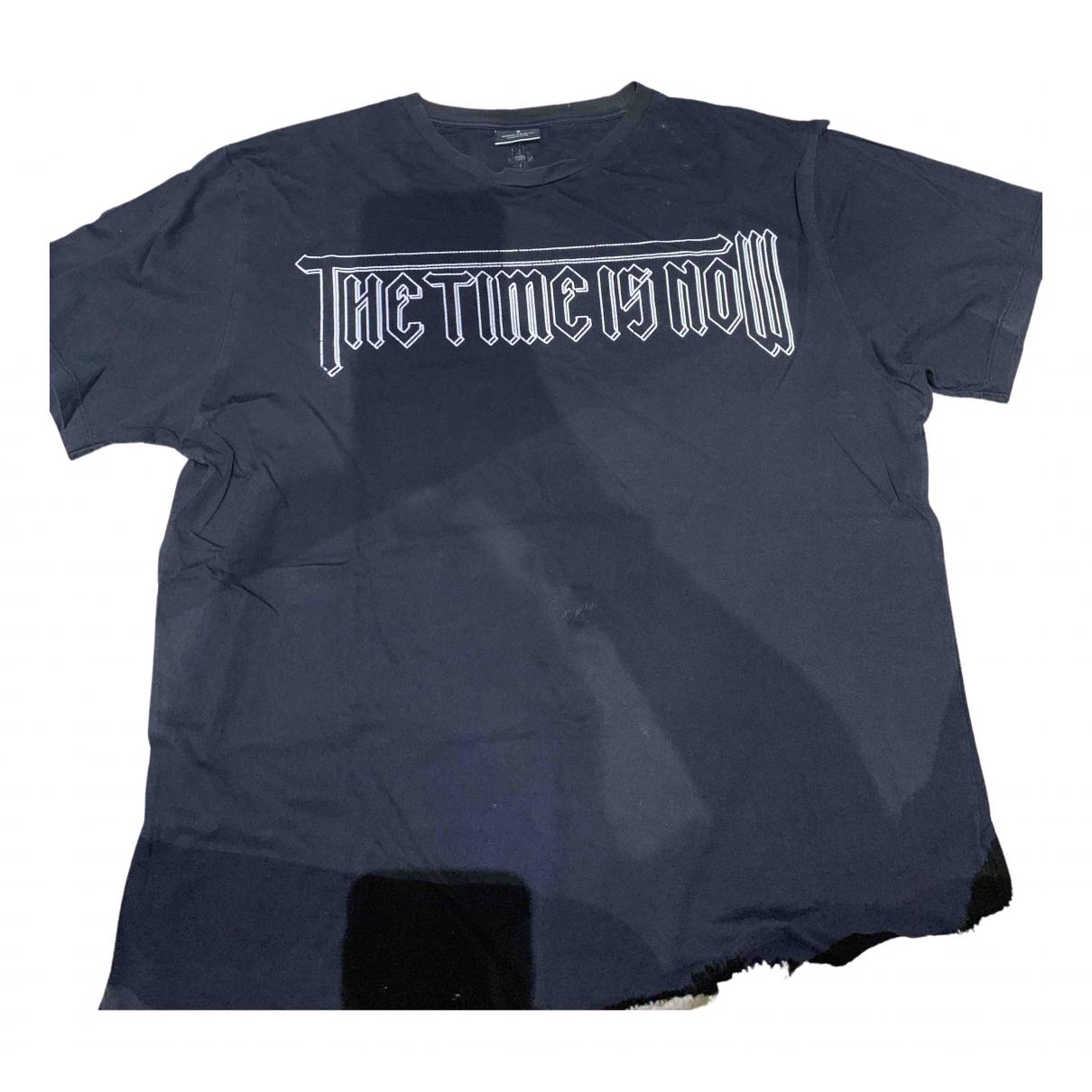 Marcelo Burlon \N Black Cotton T-shirts for Men XXL International