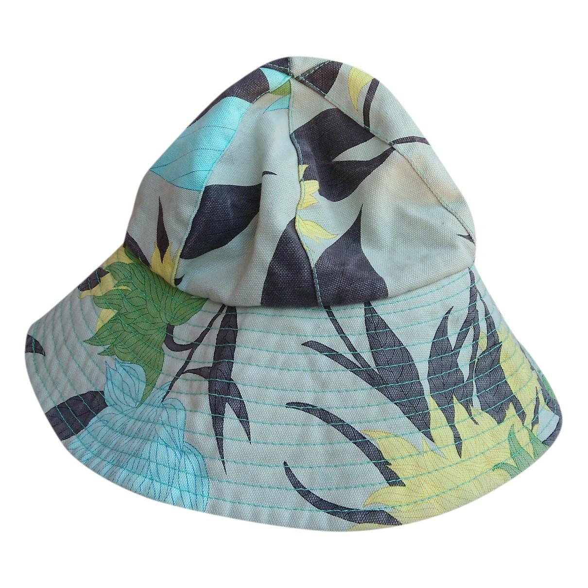 Emilio Pucci - Chapeau   pour femme en coton