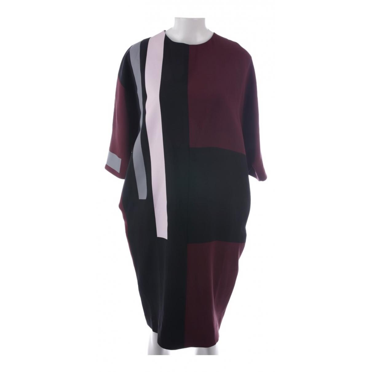 Fendi \N Multicolour Silk dress for Women 34 FR
