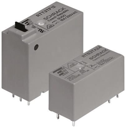 TE Connectivity SPNO PCB Mount Latching Relay - 16 A, 12V dc For Use In Power Applications