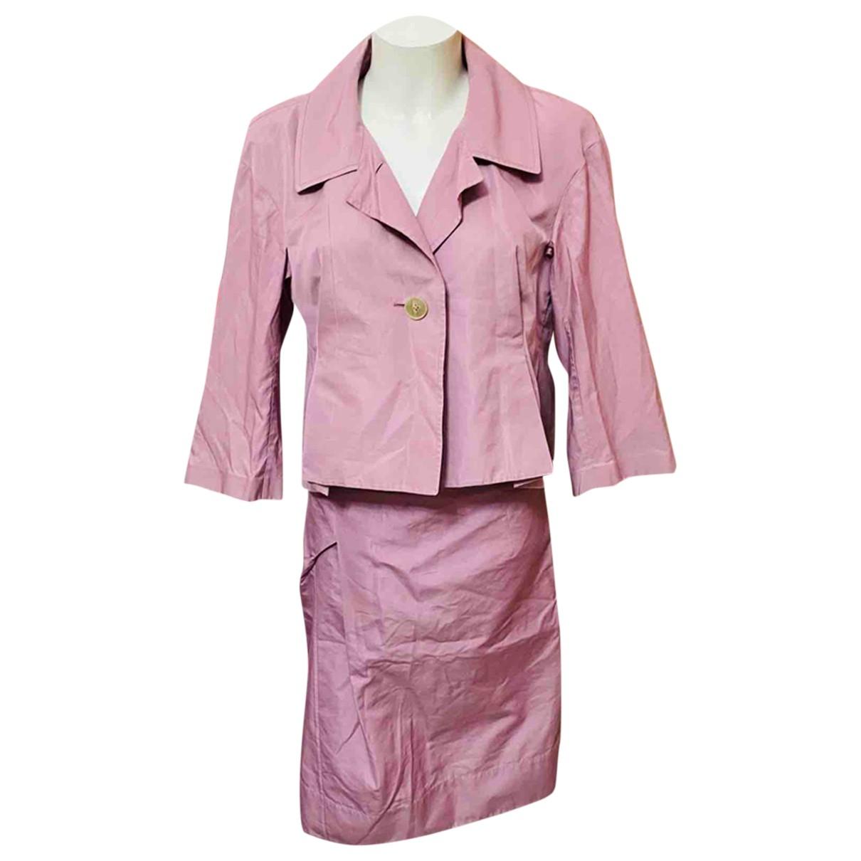 Jil Sander - Jupe   pour femme en soie - violet