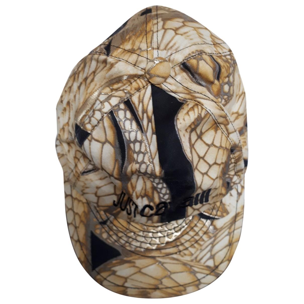 Just Cavalli - Chapeau   pour femme en coton - dore