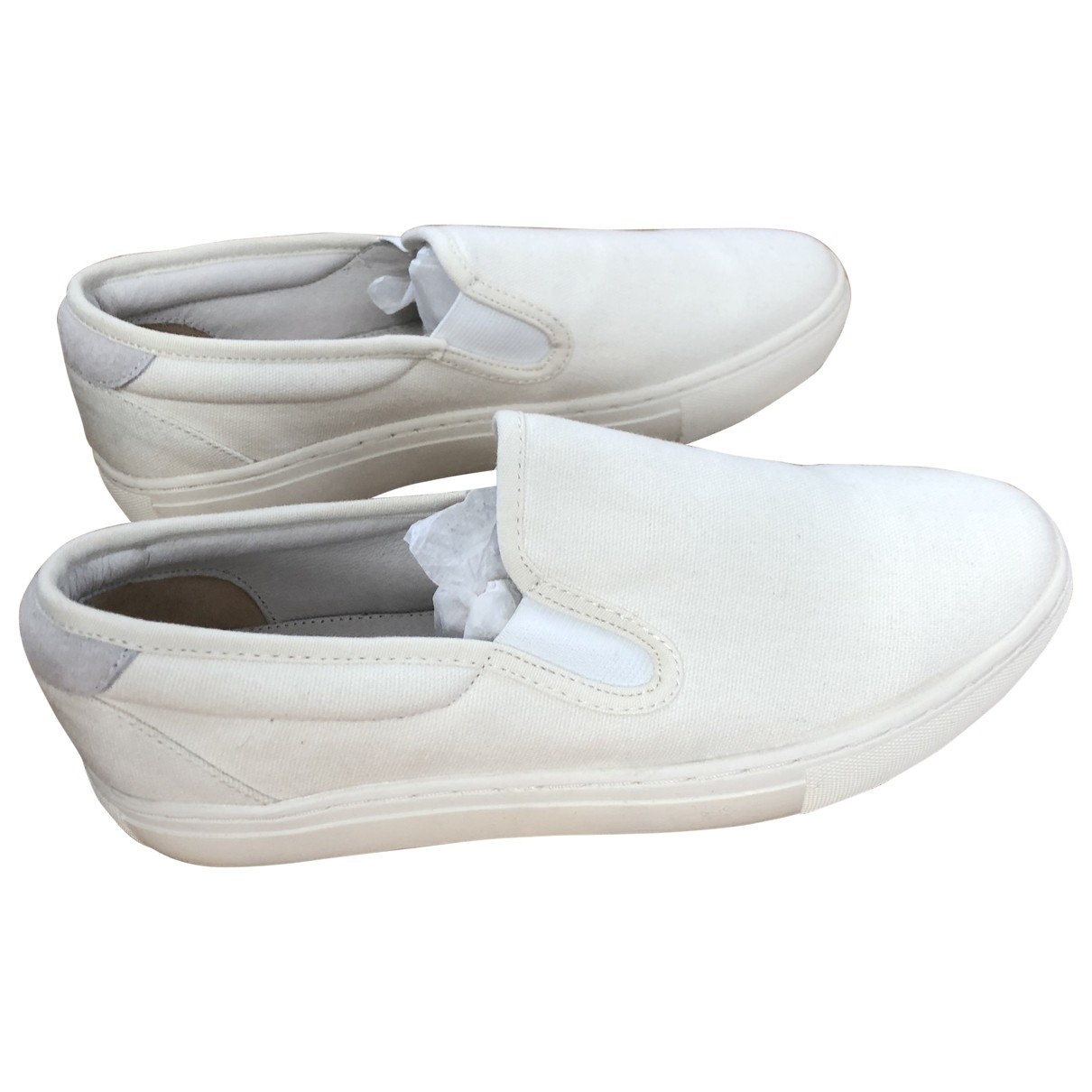 Apc \N White Cloth Trainers for Women 40 EU