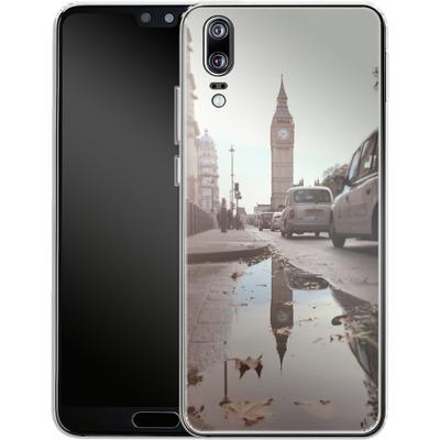 Huawei P20 Silikon Handyhuelle - Double Ben von Ronya Galka