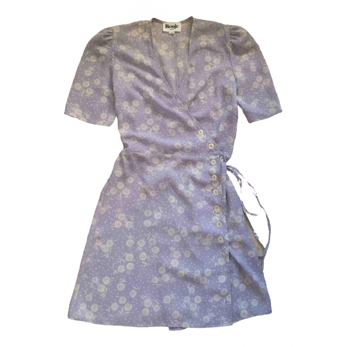 Rouje Gabinette Purple dress for Women 36 FR